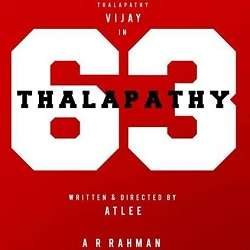 Vijay Thalapathy 63 Mp3 Songs